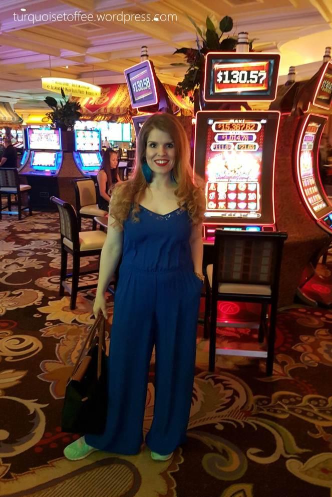 Babymoon Gender Reveal Las Vegas Bellagio Turquoise